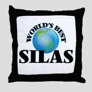 World's Best Silas Throw Pillow
