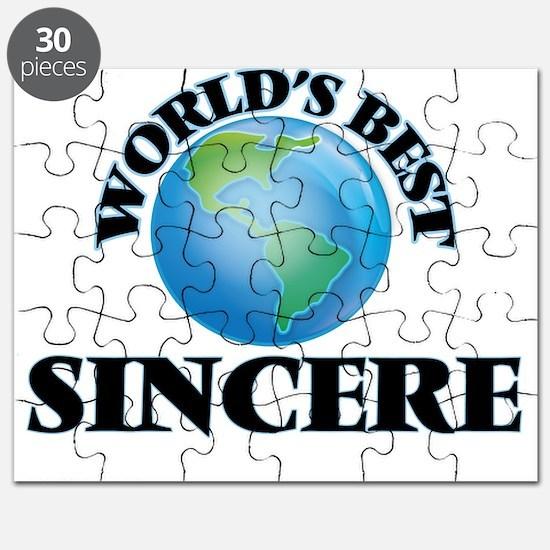 World's Best Sincere Puzzle