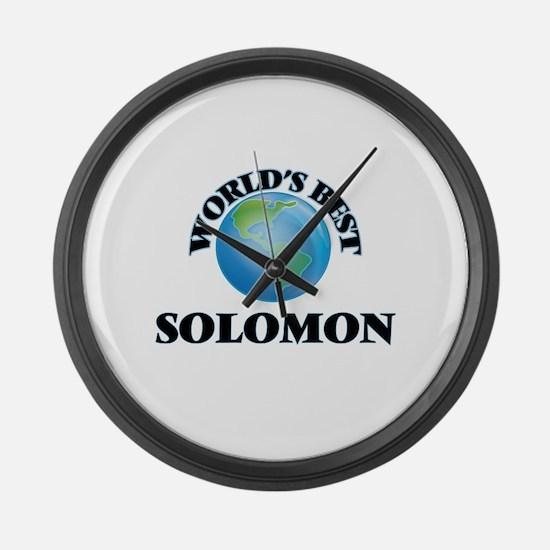 World's Best Solomon Large Wall Clock
