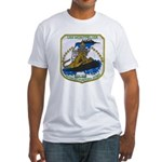 USS MONTPELIER Fitted T-Shirt