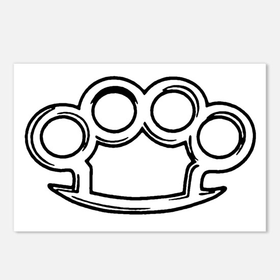 Brass Knuckles Postcards (Package of 8)