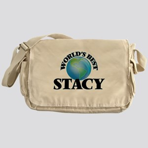 World's Best Stacy Messenger Bag
