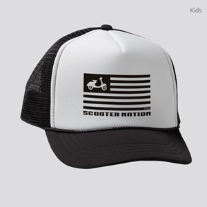 Scooter Nation Kids Trucker Hat