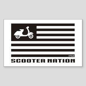 Scooter Nation Sticker