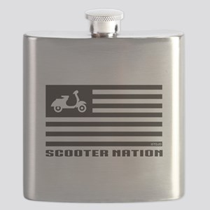 Scooter Nation Stainless Steel Flask