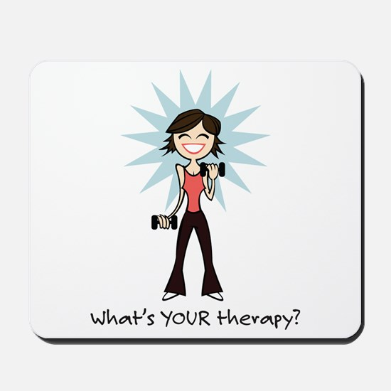 Workout Therapy Mousepad