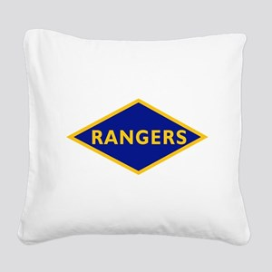 Ranger Battalions (Obsolete). Square Canvas Pillow