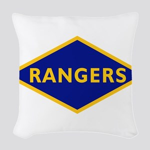 Ranger Battalions (Obsolete).p Woven Throw Pillow