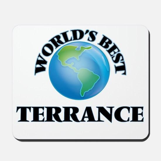 World's Best Terrance Mousepad