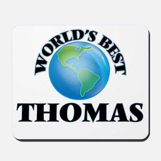 World's Best Thomas Mousepad