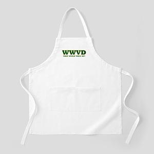 WWVD? BBQ Apron