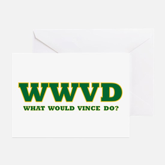 WWVD? Greeting Cards (Pk of 10)