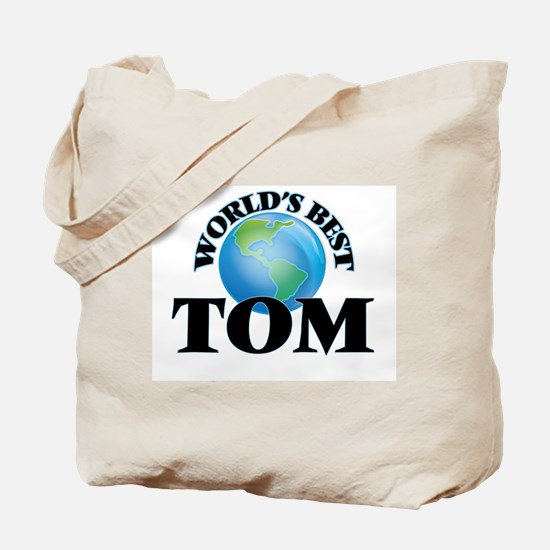 World's Best Tom Tote Bag