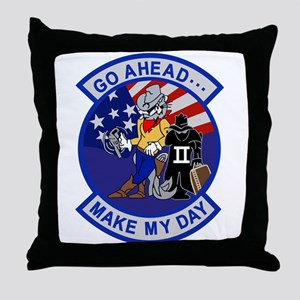 vf-202_makeMyDay Throw Pillow