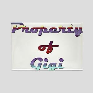 Property Of Gigi Female Magnets