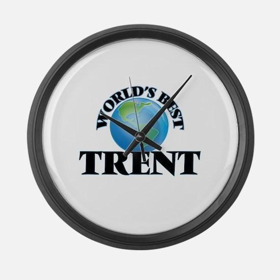 World's Best Trent Large Wall Clock