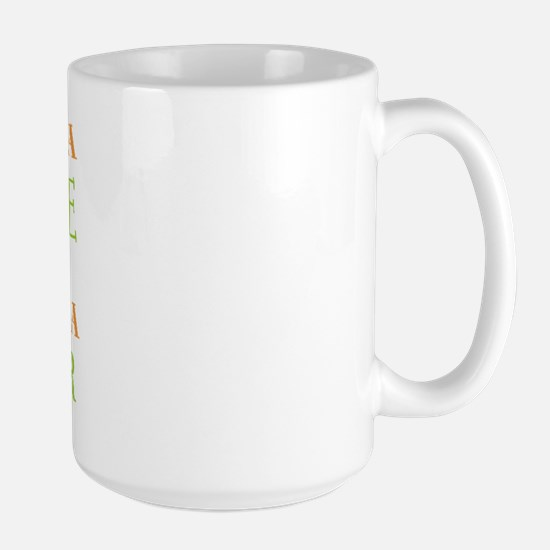 Once You're A Pickle, Cucumber Large Mug