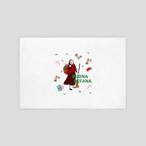 christmas Witch Befana 4' x 6' Rug