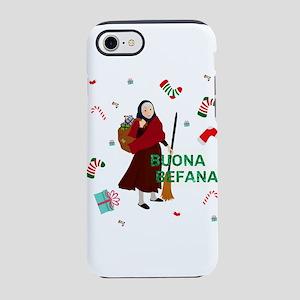 christmas Witch buona Befana iPhone 7 Tough Case