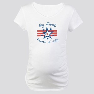 My First Fourth Maternity T-Shirt