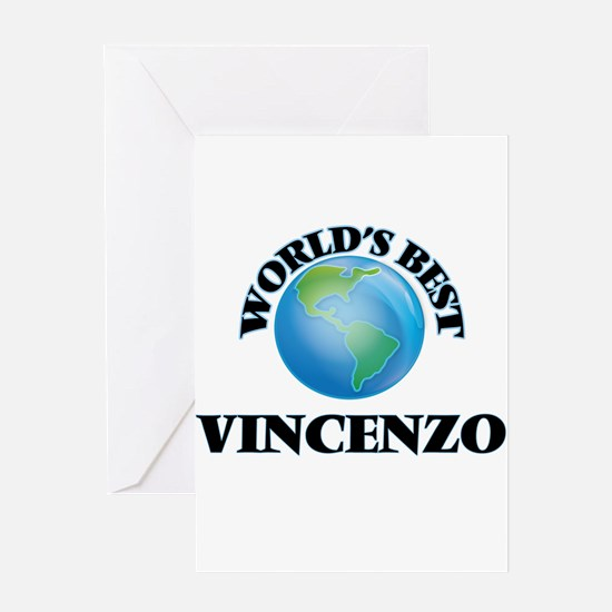 World's Best Vincenzo Greeting Cards