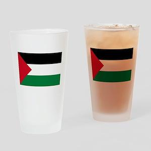 palestine-flag4000w Drinking Glass