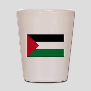 palestine-flag4000w Shot Glass