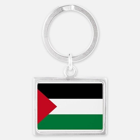palestine-flag4000w Keychains