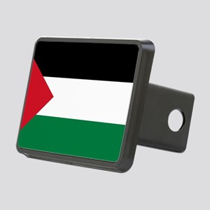 palestine-flag4000w Rectangular Hitch Cover