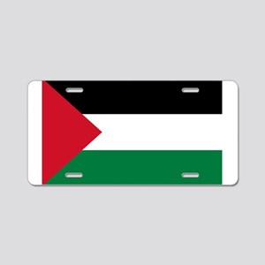 palestine-flag4000w Aluminum License Plate