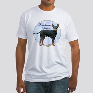 Manchester Potrait Fitted T-Shirt