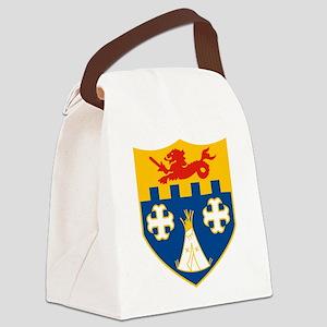 12th IR Crest Canvas Lunch Bag
