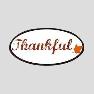 Thankful & Autumn Leaf Patch