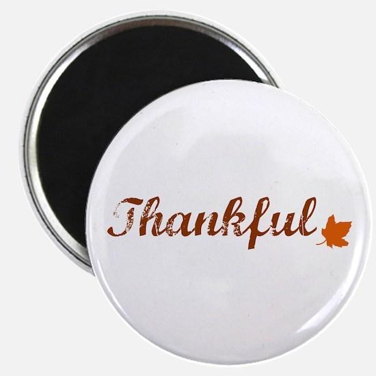 Thankful & Autumn Leaf Magnets