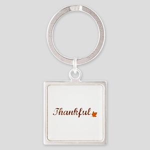 Thankful & Autumn Leaf Keychains
