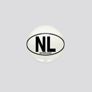 nl-oval-plain Mini Button