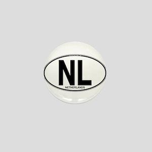 nl-oval-plain Mini Button