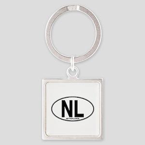 nl-oval-plain Keychains
