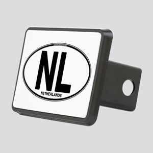 nl-oval-plain Rectangular Hitch Cover