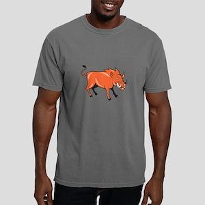 Razorback Head Charge Cartoon T-Shirt