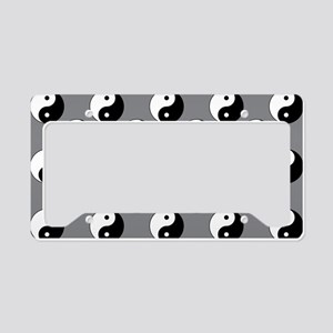 Yin Yang License Plate Holder