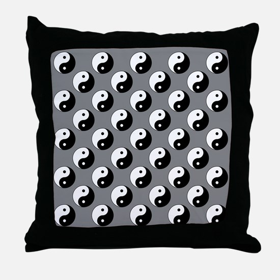 Yin Yang Throw Pillow