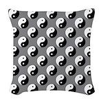 Yin Yang Woven Throw Pillow