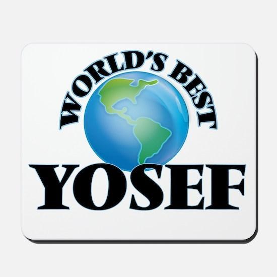 World's Best Yosef Mousepad