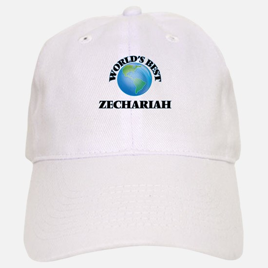 World's Best Zechariah Baseball Baseball Cap