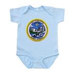 USS CHARLOTTE Infant Bodysuit
