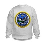 USS CHARLOTTE Kids Sweatshirt
