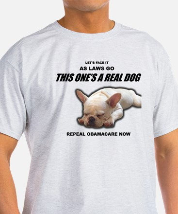 Obamacare: A Dog of a Law T-Shirt