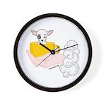 Bulldog Bart's Wall Clock