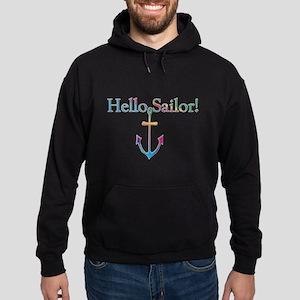 Hello Sailor (Rainbow Pride) Hoodie (dark)